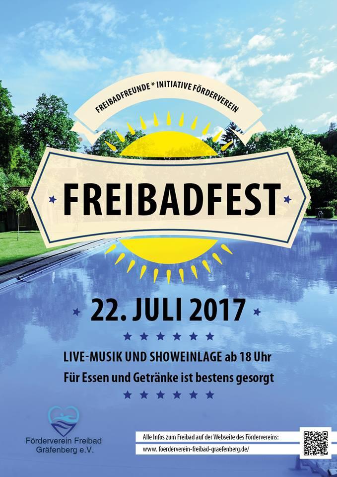 Einladung zum Freibadfest