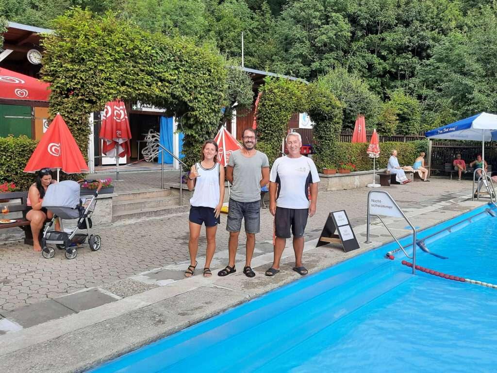 Kim, Eken und Sven