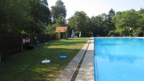 Liegewiese am Schwimmerbereich.