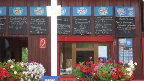 Der Kiosk - mit türkischer Küche.